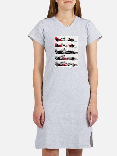F1 grid.jpg Women's Nightshirt