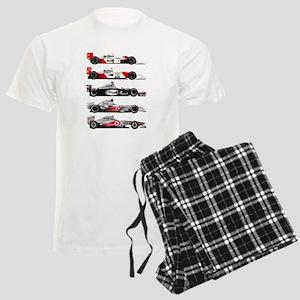 F1 grid Men's Light Pajamas