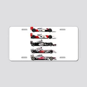 F1 grid Aluminum License Plate