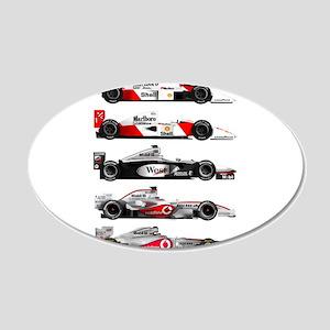 F1 grid 22x14 Oval Wall Peel