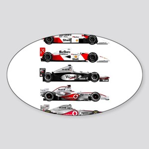 F1 grid Sticker (Oval)