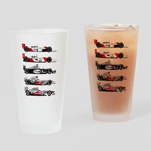 F1 grid Drinking Glass