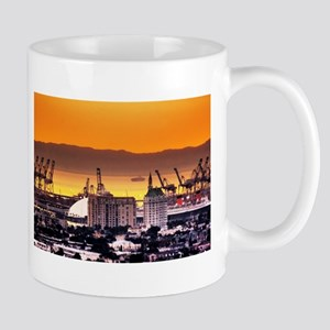 Sunset Over DOWNTOWN/ Mug