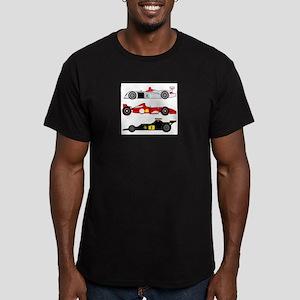formulaone Men's Fitted T-Shirt (dark)
