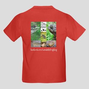 WFB Logo Kids Dark T-Shirt Front/Back Design