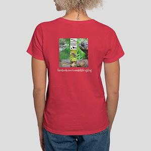 WFB Logo Women's Dark T-Shirt Front/Back Design