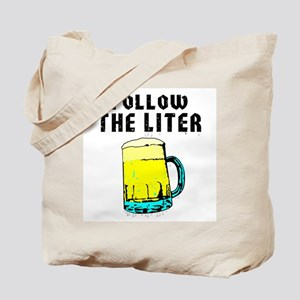 Follow The Liter -  Tote Bag