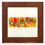 Caliente Framed Tile