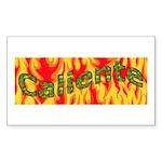 Caliente Rectangle Sticker
