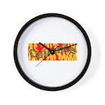 Caliente Wall Clock