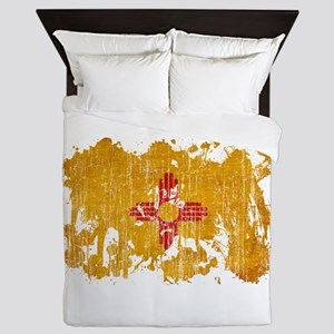 New Mexico Flag Queen Duvet