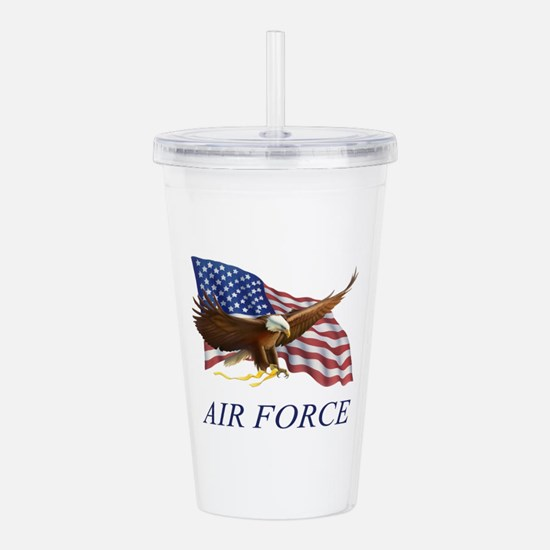 AUSAIRFORCE.png Acrylic Double-wall Tumbler