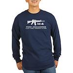 m4 accessories - white Long Sleeve Dark T-Shirt