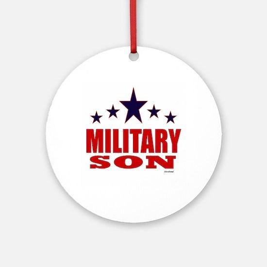 Military Son Ornament (Round)