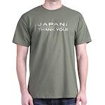 Japan thank you - white Dark T-Shirt