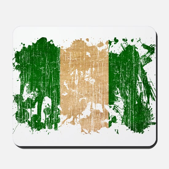 Nigeria Flag Mousepad