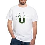 beeb magnet symbol - OD White T-Shirt