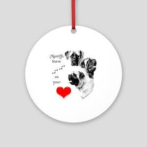 Mastiff 201 Ornament (Round)