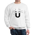 beeb magnet symbol - black Sweatshirt