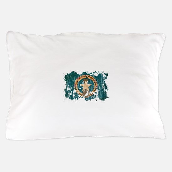 """""""Northern Mariana Islands Flag"""" Pillow Case"""