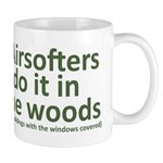 Airsofters do it in the woods - OD Mug