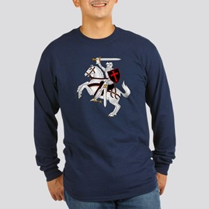 Seal Team 6 Crusader Long Sleeve Dark T-Shirt
