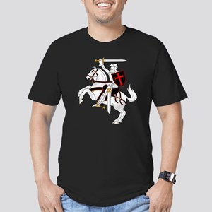 Seal Team 6 Crusader Men's Fitted T-Shirt (dark)