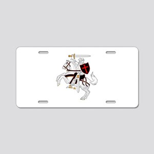 Seal Team 6 Crusader Aluminum License Plate