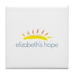 Elizabeth's Hope Tile Coaster