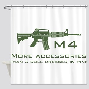 m4 accessories - OD Shower Curtain
