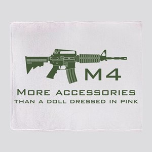 m4 accessories - OD Throw Blanket