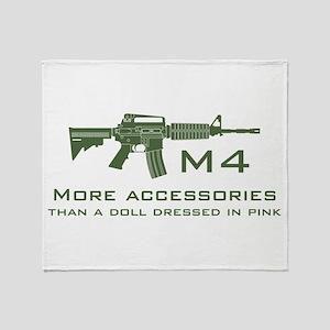 m4 accessories - OD Throw Blanket