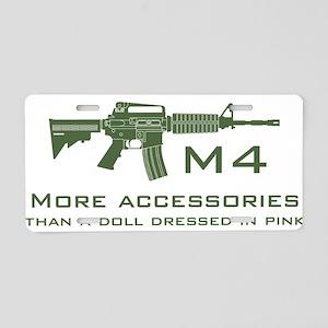 m4 accessories - OD Aluminum License Plate