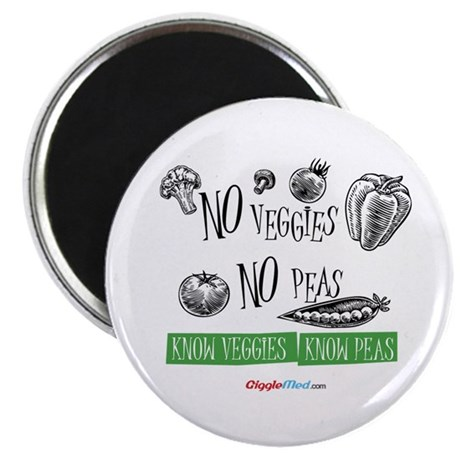 No Peas 02 Magnets