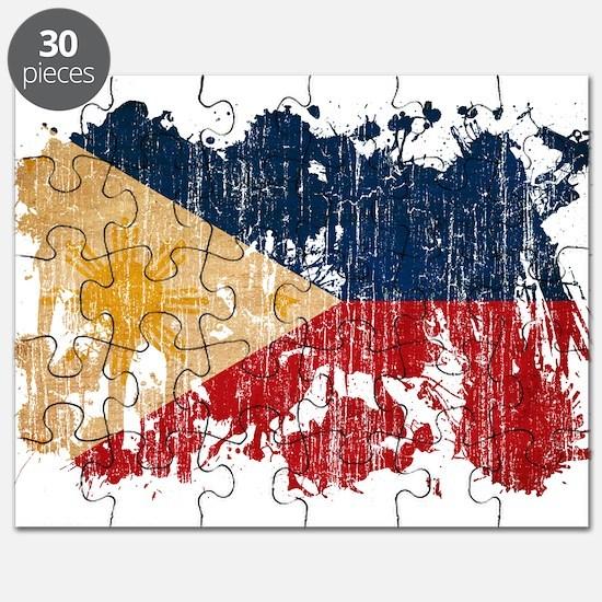 Philippines Flag Puzzle