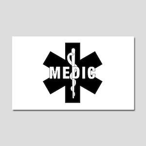 Medic EMS Star Of Life Car Magnet 20 x 12