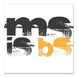 MS is BS (White) Square Car Magnet 3