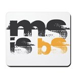 MS is BS (White) Mousepad