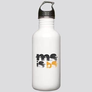 MS is BS (White) Stainless Water Bottle 1.0L