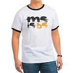 MS is BS (White) Ringer T