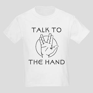 Talk to the Spock Hand Kids Light T-Shirt