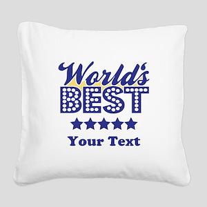 Best Square Canvas Pillow