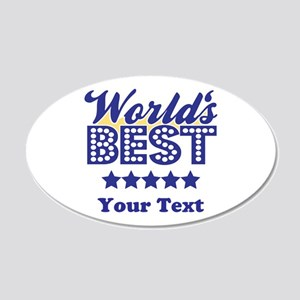 Best 20x12 Oval Wall Decal