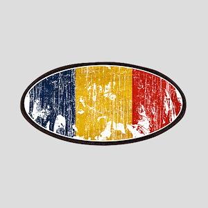 Romania Flag Patches