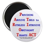 "Patriot Act 2.25"" Magnet (10 pack)"