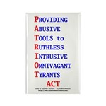 Patriot Act Rectangle Magnet (100 pack)
