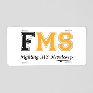 FMS (Boxers) Aluminum License Plate
