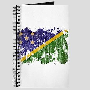 Solomon Islands Flag Journal