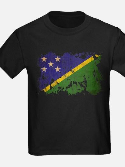 Solomon Islands Flag T