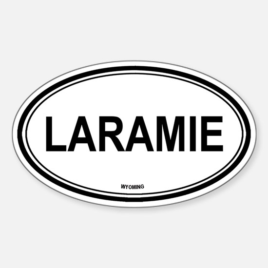 Laramie (Wyoming) Oval Decal